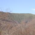 奥産道から見た大松倉山